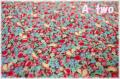 LECIEN Orchard Kitchen フルーツミニ ブラウン 31738-80 (約110cm幅×50cm)