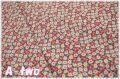 LECIEN Retro 30's Child Smile フラワー グリーン×レッド 35062-30 (約110cm幅×50cm)