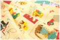 Hallmark Cards パッチ レトロ 40553-11 (約110cm幅×50cm)