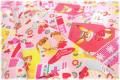 Hallmark Cards アニマル ピンク 40554-20 (約110cm幅×50cm)