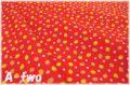 LECIEN Petite Cherie ストロベリー レッド 41123-30 (約110cm幅×50cm)