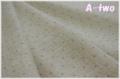 【期間限定40%OFF】 YUWA リネン ドット パープル (約110cm幅×50cm) 【ポイント還元対象外】