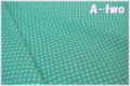LECIEN Color Basic 3mmドット ターコイズ 4505-LL (約110cm幅×50cm)