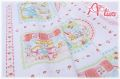 LECIEN Hello Baby パネル 生成り×カラフル 49263-11 1R(約110cm幅×60cm)