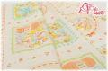 LECIEN Hello Baby パネル オレンジ 49263-40 1R(約110cm幅×60cm)