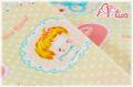 LECIEN Hello Baby ドット イエロー 49264-11 (約110cm幅×50cm)