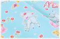 LECIEN Hello Baby フラワー ブルー 49265-70 (約110cm幅×50cm)