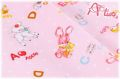 LECIEN Hello Baby アルファベット ピンク 49266-20 (約110cm幅×50cm)