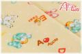 LECIEN Hello Baby アルファベット イエロー 49266-50 (約110cm幅×50cm)