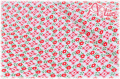 WINDHAM FABRICS SUGAR SACK Red Gingham Floral 50436-1 (約110cm幅×50cm)