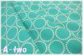 Andober Fabrics Mini Pearl Bracelets Spearmint 7829-G1 (約110cm幅×50cm)