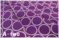 Andober Fabrics Mini Pearl Bracelets Violet 7829-P1 (約110cm幅×50cm)
