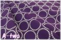 Andober Fabrics Mini Pearl Bracelets Tyrian Purple 7829-P2 (約110cm幅×50cm)
