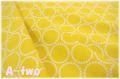 Andober Fabrics Mini Pearl Bracelets Yellow 7829-Y (約110cm幅×50cm)