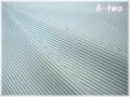 YUWA ストライプ 生成り×ライトブルー 816305-H (約110cm幅×50cm)
