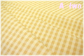YUWA チェック ベージュ 816818-1 (約110cm幅×50cm)