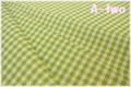YUWA チェック グラスグリーン 816818-20 (約110cm幅×50cm)