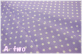 YUWA ドット 濃パープル×生成り 816819-20 (約110cm幅×50cm)