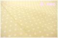 YUWA ドット ベージュ×生成り 816819-A (約110cm幅×50cm)