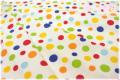 RJR Fabrics Crazy for Dots & Stripes 生成り 8172-3 (約110cm幅×50cm)