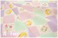 LECIEN Hello Baby チェック パープル 820843-110 (約110cm幅×50cm)