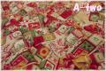 YUWA クリスマスキューブ レッド 825131-B (約110cm幅×50cm)