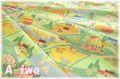 ALEXANDER HENRY countryside 6002 (約110cm幅×50cm)