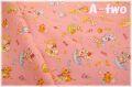 cosmo textile レトロアニマル キャンディ ピンク AP05408-1B (約110cm幅×50cm)