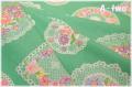 チャーミングドイリー グリーン (約110cm幅×50cm)