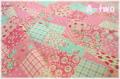 ラブリーパッチ ピンク AT116549-B (約110cm幅×50cm)