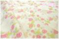 フルーツリース 生成り×ピンク AT116550-F (約110cm幅×50cm)