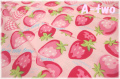 ストロベリーフェスティバル ピンク AT116557-A (約110cm幅×50cm)