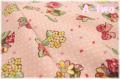 フラワーワッペン ピンク AT116564-A (約110cm幅×50cm)