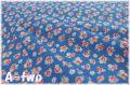 レトロローズ コバルトブルー AT116571-A (約110cm幅×50cm)