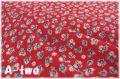 レトロローズ レッド AT116571-F (約110cm幅×50cm)