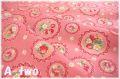 フルーツスカラップ ピンク AT116572-D (約110cm幅×50cm)