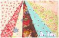 松山敦子オリジナルプリント クォーターカット7枚セット-2 (1枚の大きさ約50cm×55cm) 【1回のご注文で1セットまで】