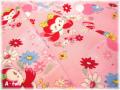 花とことり ピンク (約110cm幅×50cm)