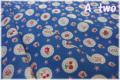 ファンシースカラップ ブルー AT826284-E (約110cm幅×50cm)