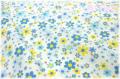 ハッピーフラワー ブルー AT826363-B (約110cm幅×50cm)