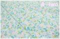 ミックスガーデン ブルー AT826445-C (約110cm幅×50cm)