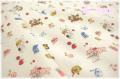 Sweet Animal 生成×カラフル AT826484-A (約110cm幅×50cm)