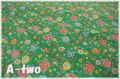 Petit Jardin ターコイズグリーン AT826534-A (約110cm幅×50cm)