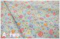 Petit Jardin ブルー AT826534-C (約110cm幅×50cm)