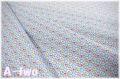 レトロスカラップ ブルー AT826577-B (約110cm幅×50cm)