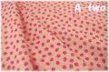 リトルストロベリー ピンク AT826597-B (約110cm幅×50cm)