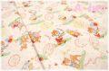 ラブリーアニマル 生成り×カラフル AT826599-A (約110cm幅×50cm)