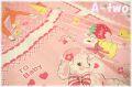 ラブリーアニマル パネル ピンク ♪A-two オリジナルカラー♪ AT826603-1 1R(約110cm幅×60cm)
