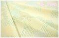 Secret Cherry 生成り×グリーン AT829630-C (約110cm幅×50cm)
