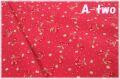 Cherry Bonbon レッド AT829636-F (約110cm幅×50cm)